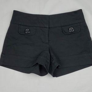 Le Chateau little black shorts